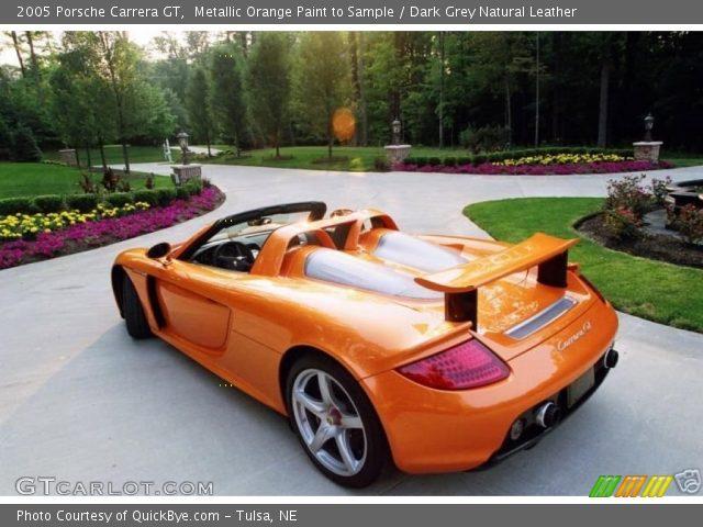 2005 Porsche Carrera GT  in Metallic Orange Paint to Sample