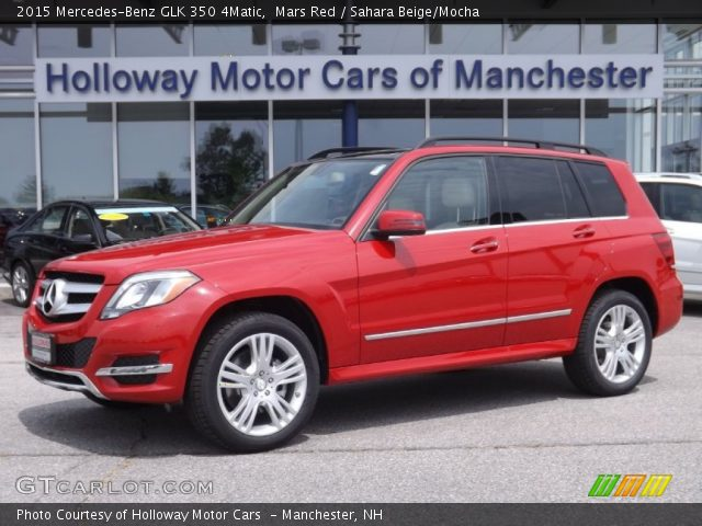 Mars Red 2015 Mercedes Benz Glk 350 4matic Sahara