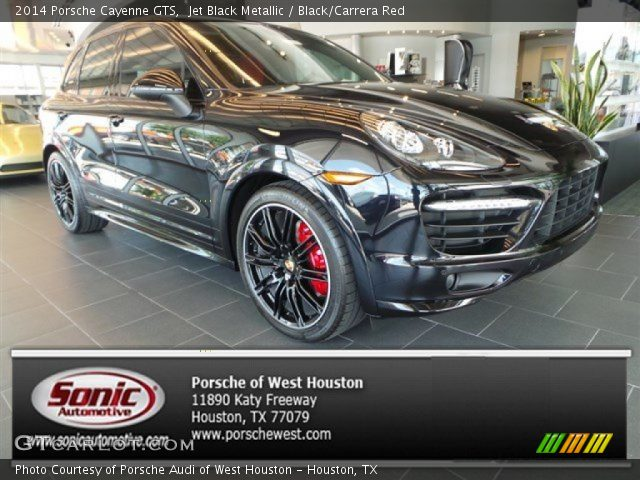 Jet Black Metallic 2014 Porsche Cayenne Gts Black Carrera Red Interior Gtcarlot Com Vehicle Archive 95042906