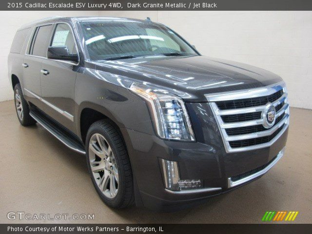 2015 Cadillac Escalade ESV Luxury 4WD in Dark Granite Metallic