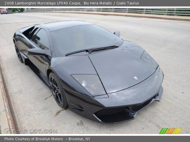 2008 Lamborghini Murcielago LP640 Coupe in Blu Hera Metallic