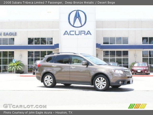 2008 Subaru Tribeca Limited 7 Passenger in Deep Bronze Metallic