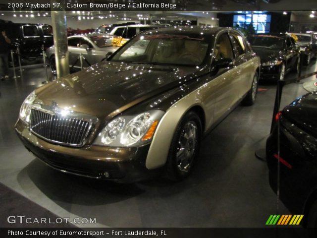 2006 Maybach 57  in Custom Brown/Beige