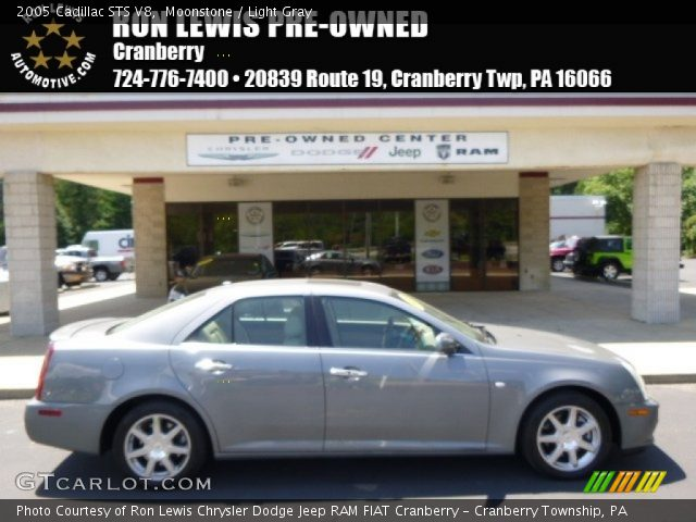 2005 Cadillac STS V8 in Moonstone