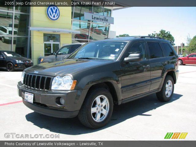 Dark khaki pearl 2005 jeep grand cherokee laredo khaki - 2005 jeep grand cherokee laredo interior ...