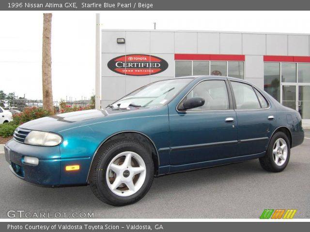 starfire blue pearl 1996 nissan altima gxe beige interior gtcarlot com vehicle archive 9514306 gtcarlot com