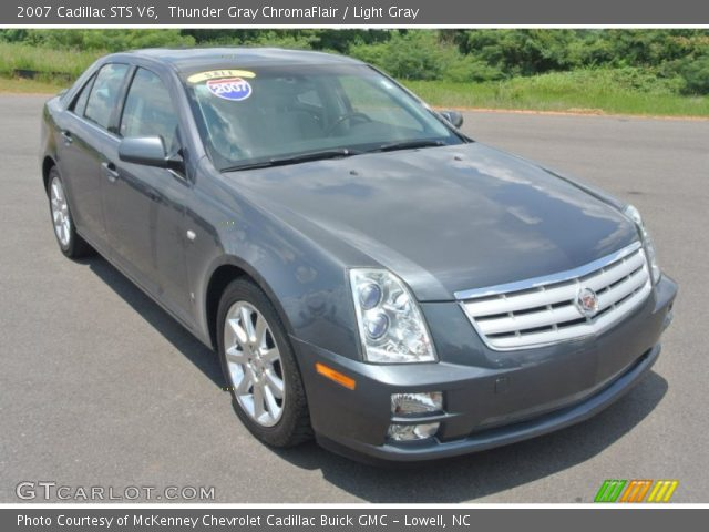 2007 Cadillac STS V6 in Thunder Gray ChromaFlair