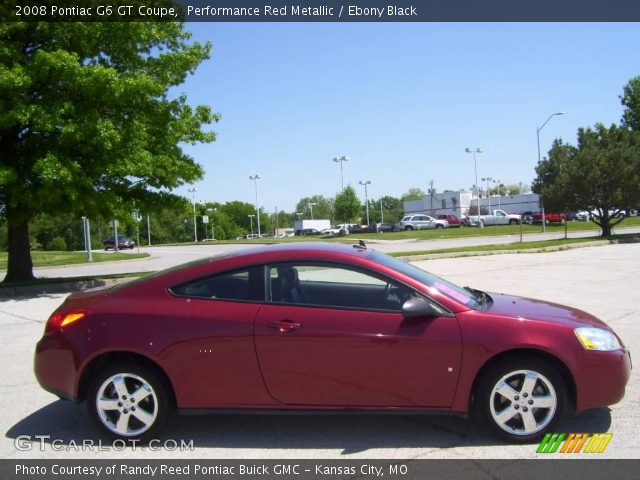 2008 Pontiac G6 GT Coupe in Performance Red Metallic. Click to see ...