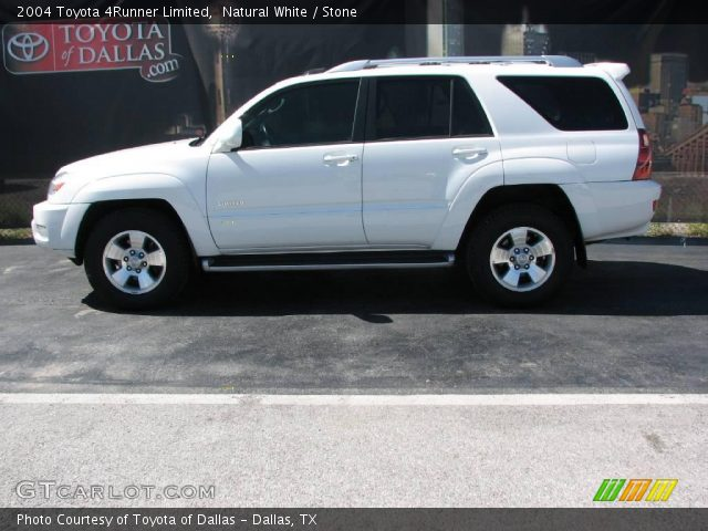 natural white 2004 toyota 4runner limited stone. Black Bedroom Furniture Sets. Home Design Ideas