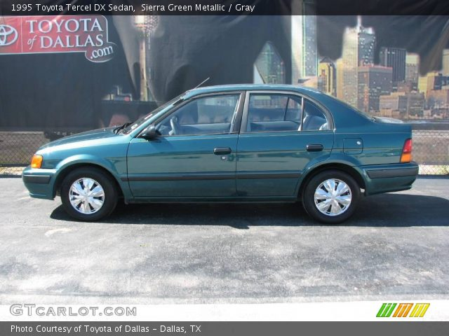 1995 Toyota Tercel DX Sedan in Sierra Green Metallic