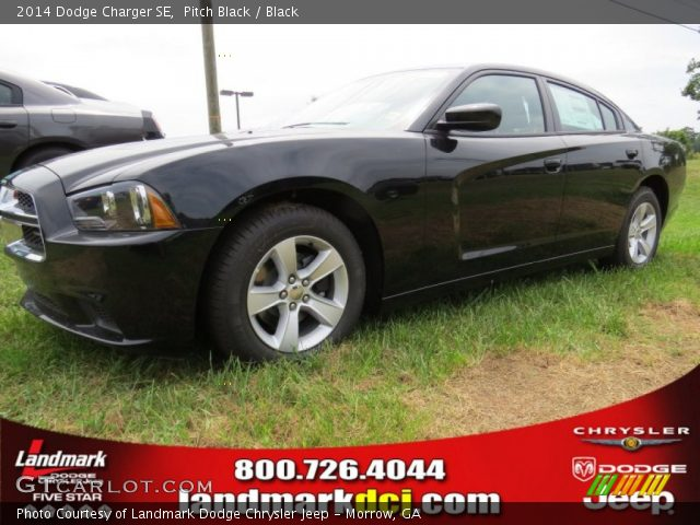 pitch black 2014 dodge charger se black interior vehicle archive 95510629. Black Bedroom Furniture Sets. Home Design Ideas