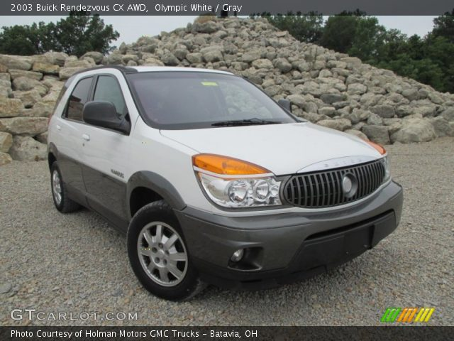 2003 Buick Rendezvous CX AWD in Olympic White