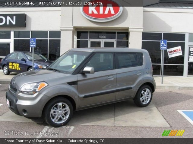 2010 Kia Soul + in Titanium Gray