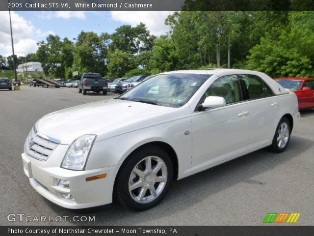 2005 Cadillac STS V6 in White Diamond