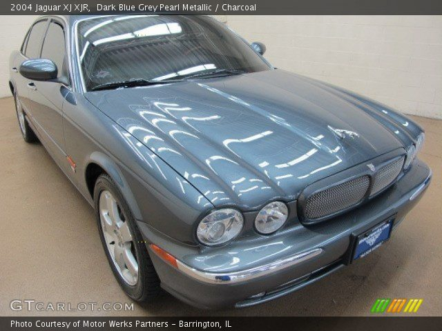 dark blue grey pearl metallic 2004 jaguar xj xjr. Black Bedroom Furniture Sets. Home Design Ideas