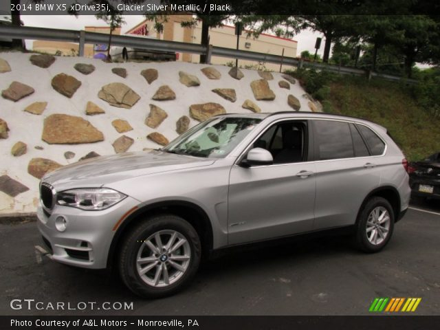 glacier silver metallic 2014 bmw x5 xdrive35i black interior vehicle. Black Bedroom Furniture Sets. Home Design Ideas