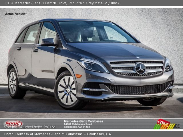 2014 Mercedes-Benz B Electric Drive in Mountain Grey Metallic