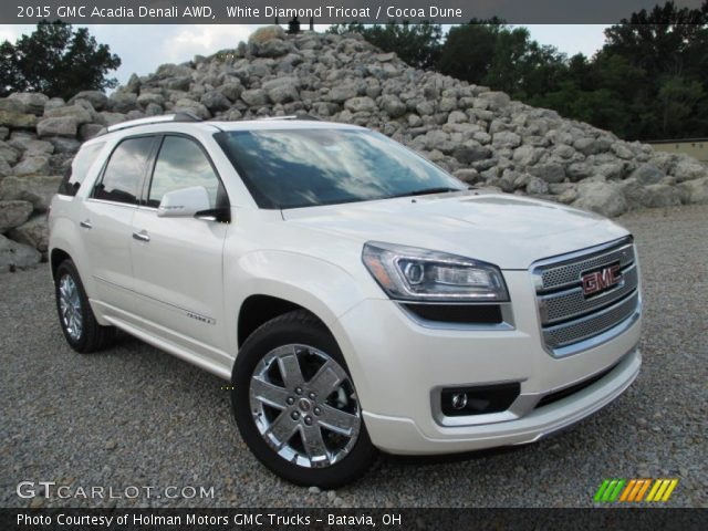 2015 GMC Acadia Denali AWD in White Diamond Tricoat