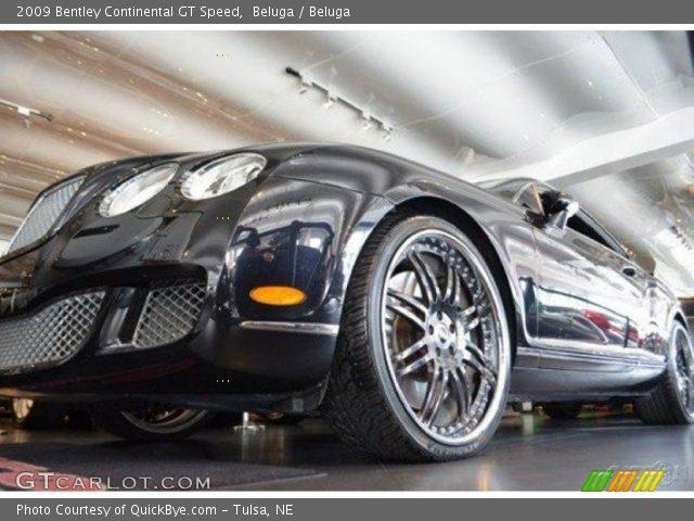 2009 Bentley Continental GT Speed in Beluga