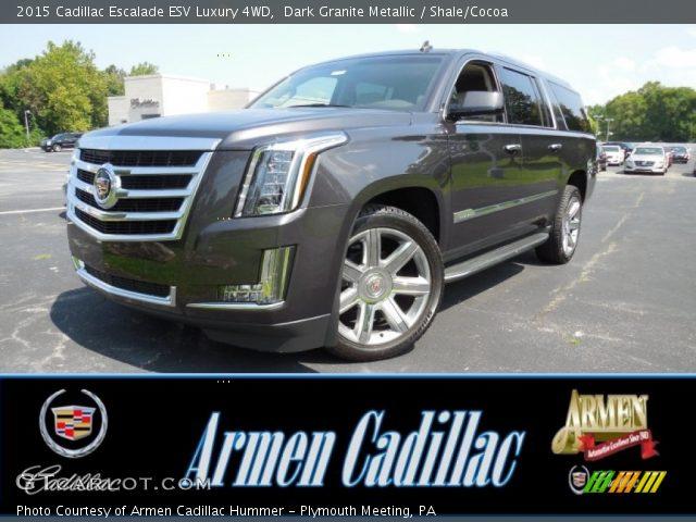 2015 Cadillac Escalade ESV Luxury 4WD in Dark Granite Metallic