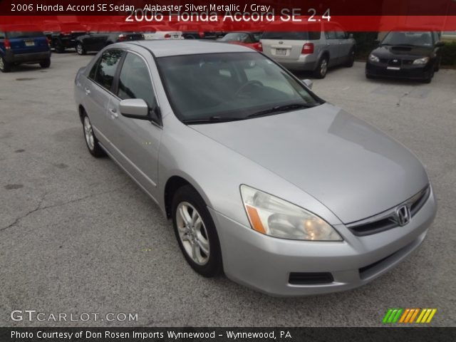 2006 Honda Accord SE Sedan in Alabaster Silver Metallic