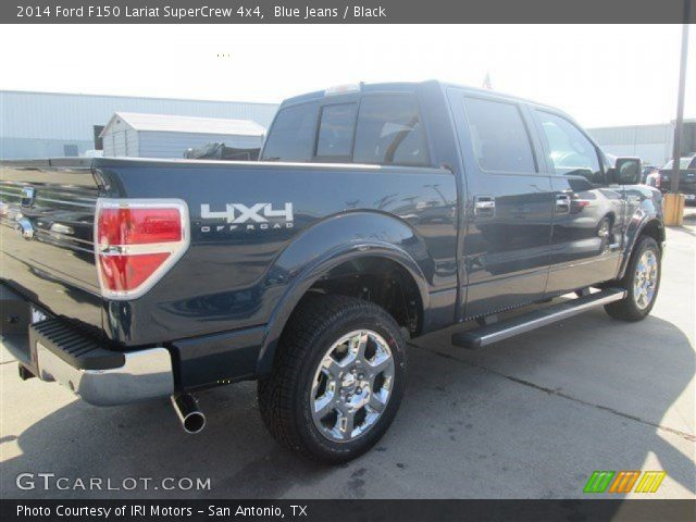 2014 Ford F150 Lariat SuperCrew 4x4 in Blue Jeans