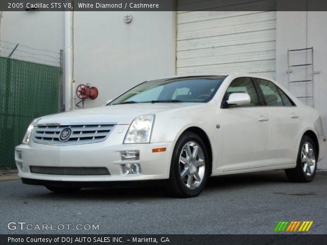 2005 Cadillac STS V8 in White Diamond