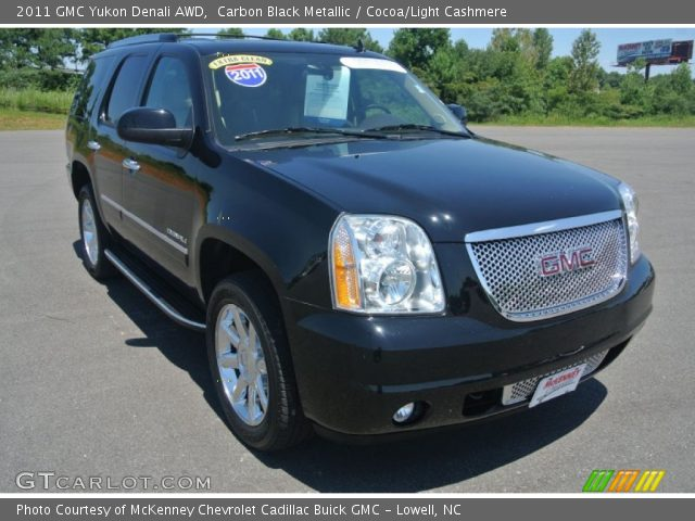 2011 GMC Yukon Denali AWD in Carbon Black Metallic