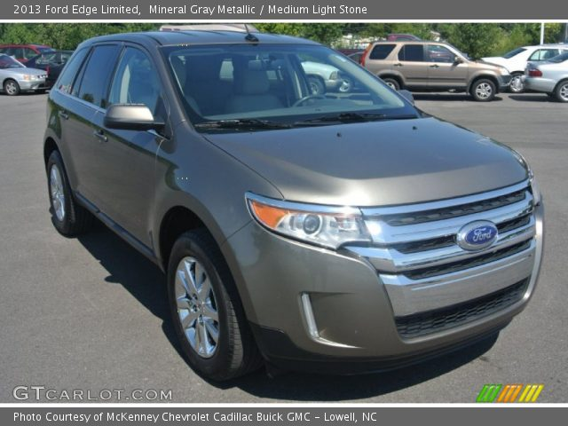 2013 Ford Edge Limited in Mineral Gray Metallic