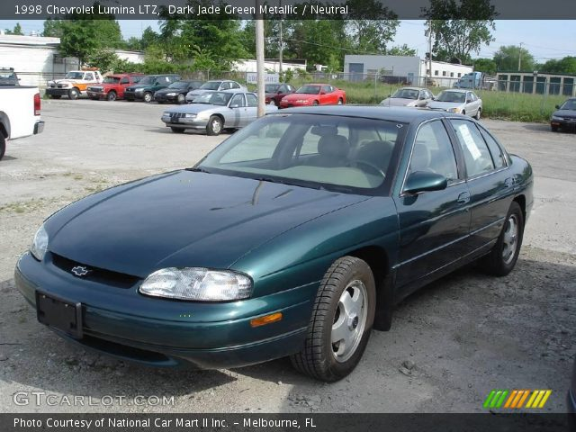 Dark Jade Green Metallic 1998 Chevrolet Lumina Ltz Neutral