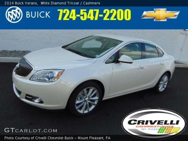 2014 Buick Verano  in White Diamond Tricoat