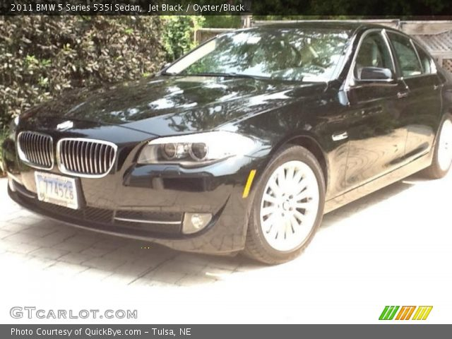 2011 BMW 5 Series 535i Sedan in Jet Black
