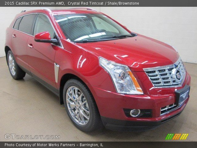2015 Cadillac SRX Premium AWD in Crystal Red Tintcoat