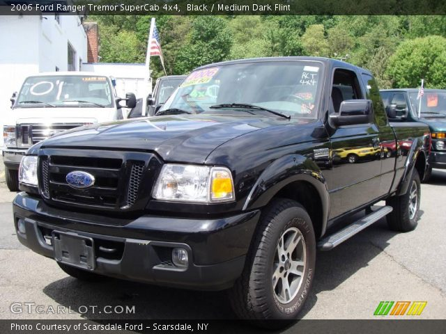 black 2006 ford ranger tremor supercab 4x4 medium dark. Black Bedroom Furniture Sets. Home Design Ideas