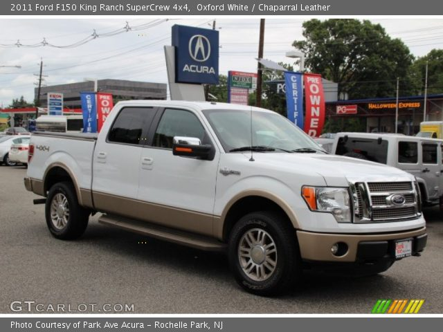 2011 Ford F150 King Ranch SuperCrew 4x4 in Oxford White