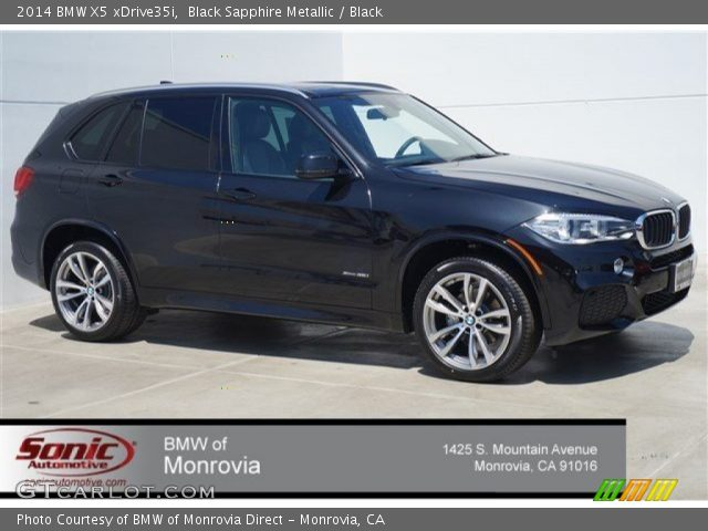 black sapphire metallic 2014 bmw x5 xdrive35i black interior vehicle. Black Bedroom Furniture Sets. Home Design Ideas