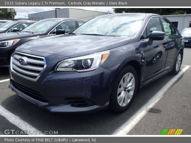 carbide gray metallic 2015 subaru legacy premium slate black interior. Black Bedroom Furniture Sets. Home Design Ideas