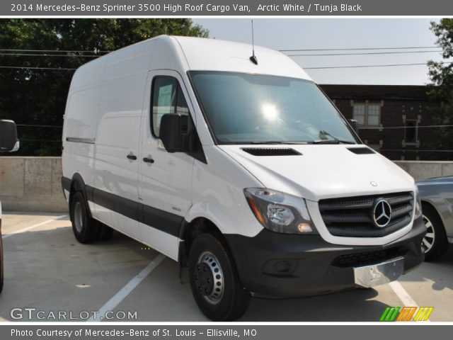 2014 Mercedes-Benz Sprinter 3500 High Roof Cargo Van in Arctic White