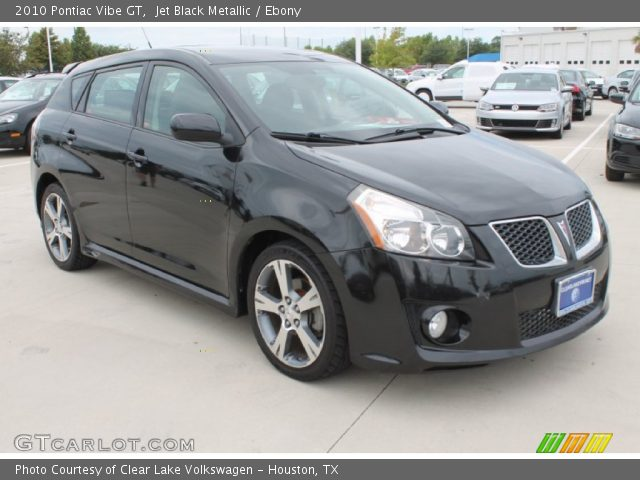 2010 Pontiac Vibe GT in Jet Black Metallic