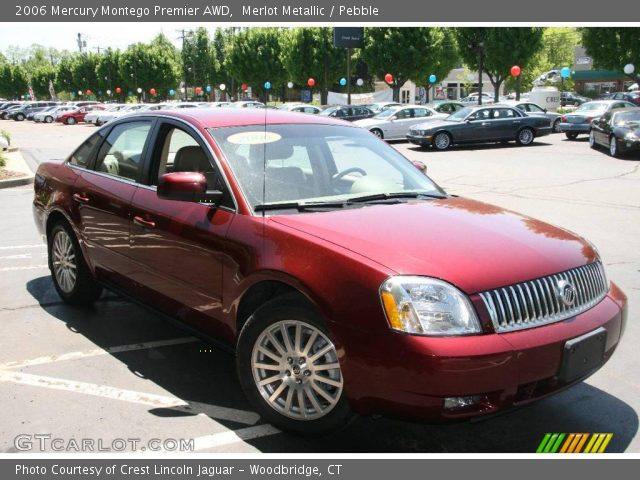 merlot metallic 2006 mercury montego premier awd. Black Bedroom Furniture Sets. Home Design Ideas
