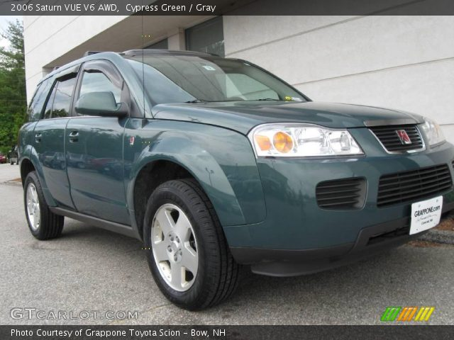 cypress green 2006 saturn vue v6 awd gray interior. Black Bedroom Furniture Sets. Home Design Ideas