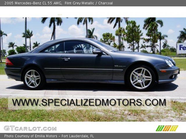 2005 Mercedes-Benz CL 55 AMG in Flint Grey Metallic