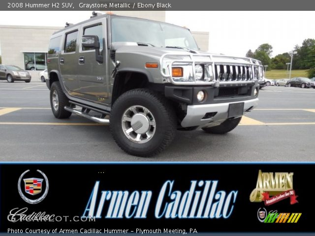 2008 Hummer H2 SUV in Graystone Metallic