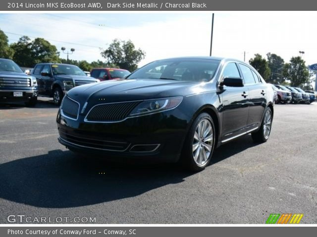 2014 Lincoln MKS EcoBoost AWD in Dark Side Metallic
