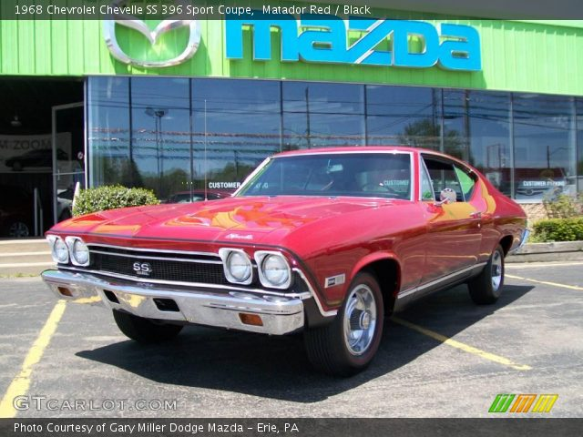 1968 Chevrolet Chevelle SS 396 Sport Coupe in Matador Red