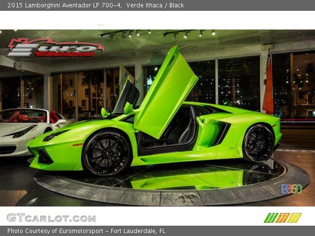 2015 lamborghini aventador lp 700 4 in verde ithaca