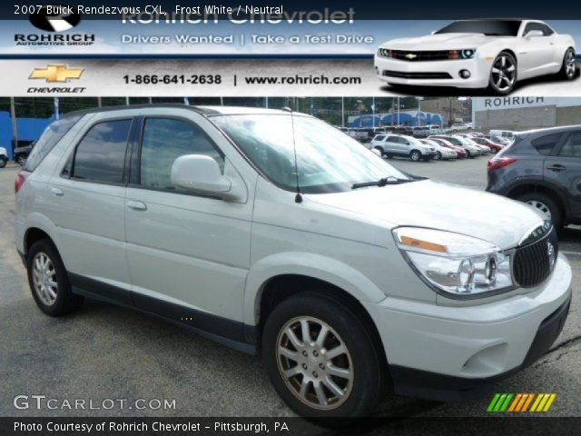 2007 Buick Rendezvous CXL in Frost White