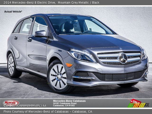 2014 Mercedes-Benz B Electric Drive in Mountain Grey Metallic