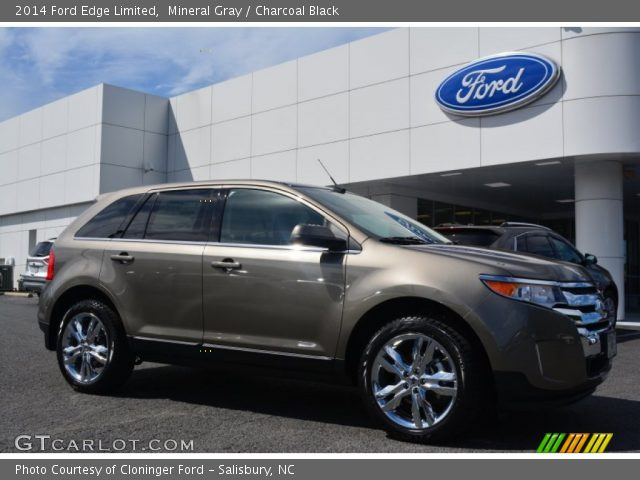2014 Ford Edge Limited in Mineral Gray