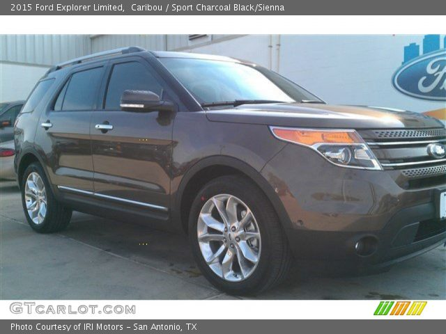 Caribou 2015 Ford Explorer Limited Charcoal Black Interior